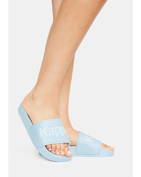 Light Blue 222 Banda Adam 17 Slide Sandals