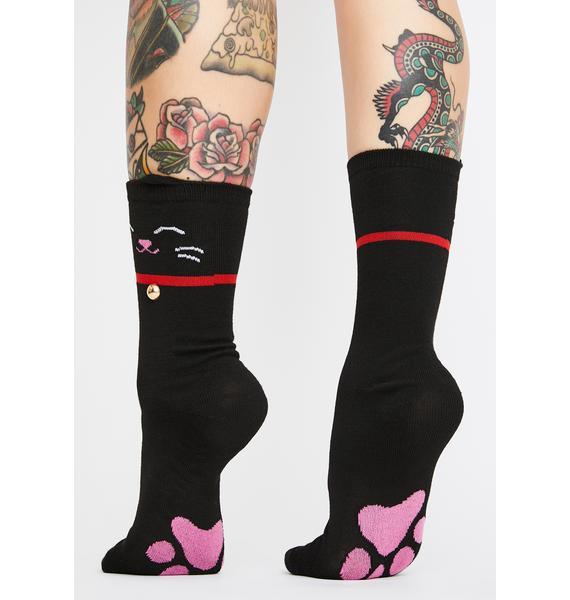 Catwalk Cutie Crew Socks