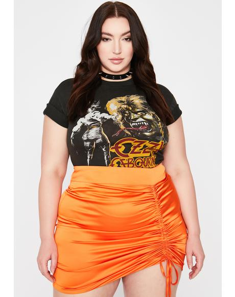BB No Vacancy Cinched Skirt
