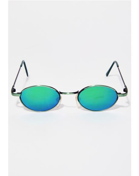 Nevermind Oval Sunglasses