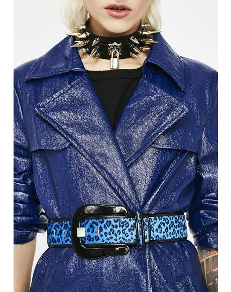 Royal Jungle Fever Leopard Belt