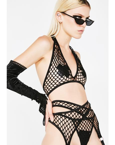 Sexx Symbol Fishnet Set