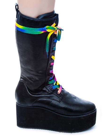 Bloq Sky High Platform Boots