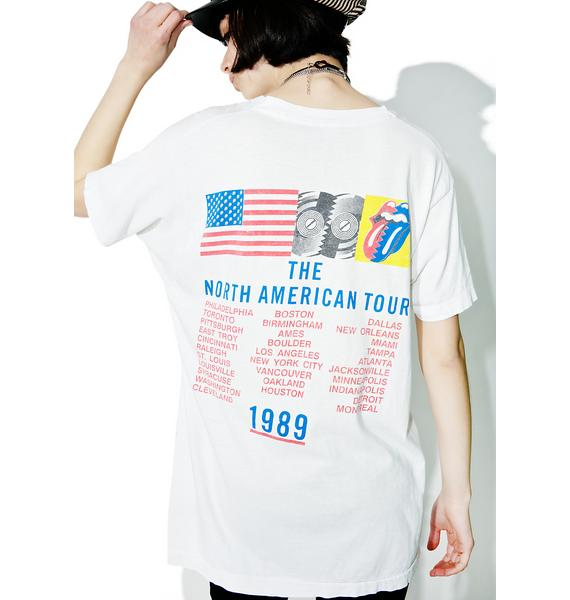 Vintage Rolling Stones Tongue Flag Tour Tee