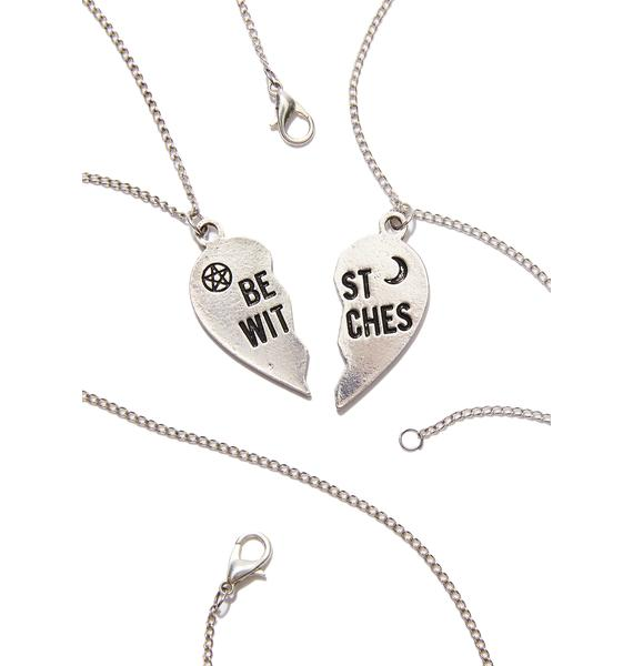 Witch Worldwide Best Witches Necklace Set
