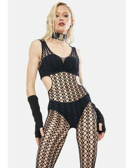 Let's Get Freaky Fishnet Bodystocking