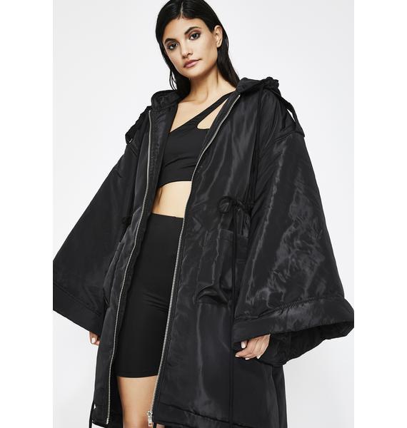 Luna Go Flex Hooded Coat