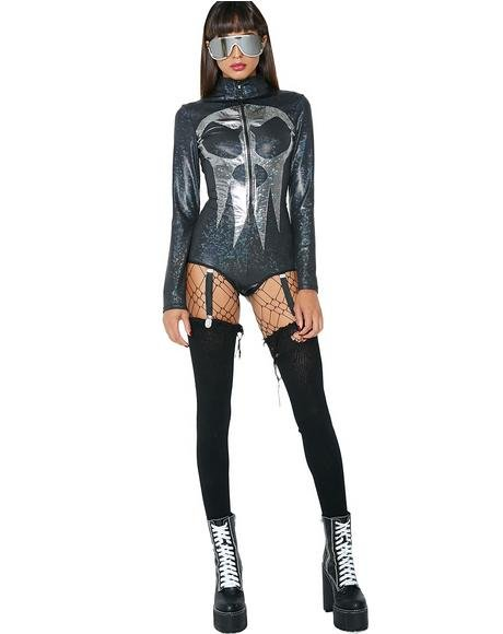 Nightmare Before Iridescent Bodysuit