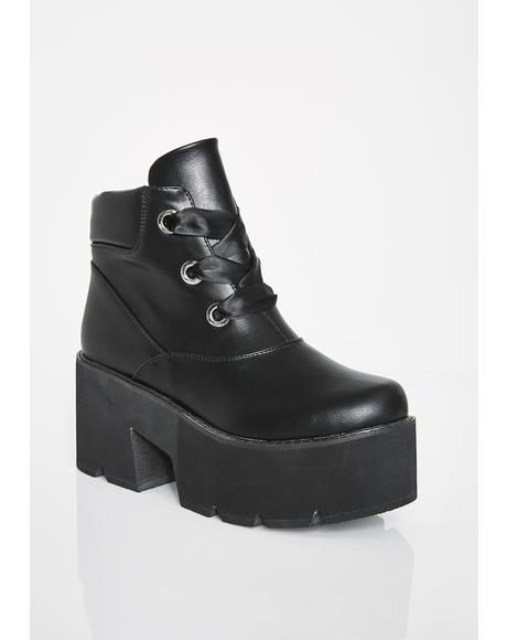 Unholy Totally Butt Crazy Platform Boots
