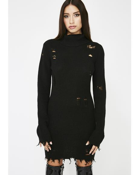 Lost In The Sauce Sweater Dress