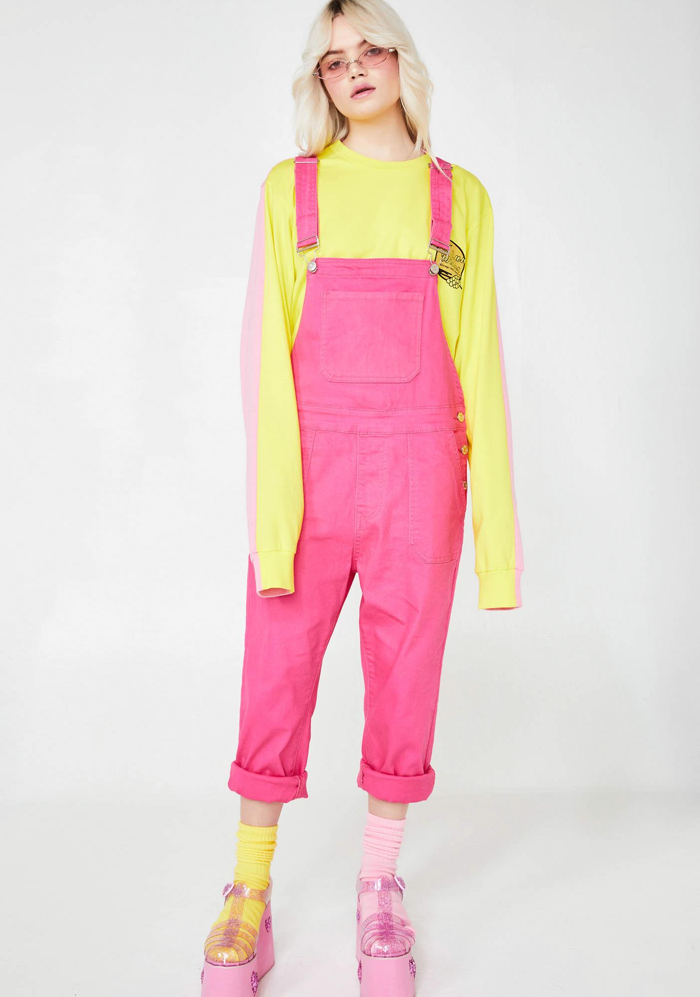 Sweet Fusion Fix Denim Overalls