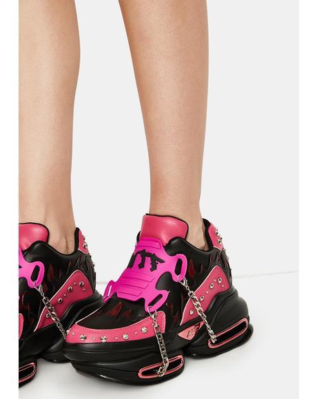 Candy Big Rush Chain Platform Sneakers