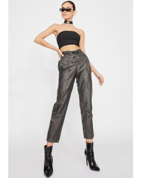 Tempest Lace-Up Pants