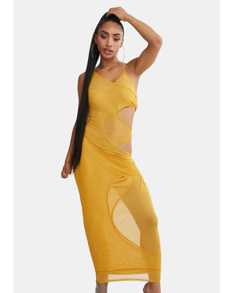 Sweet Stuff Cutout Maxi Dress