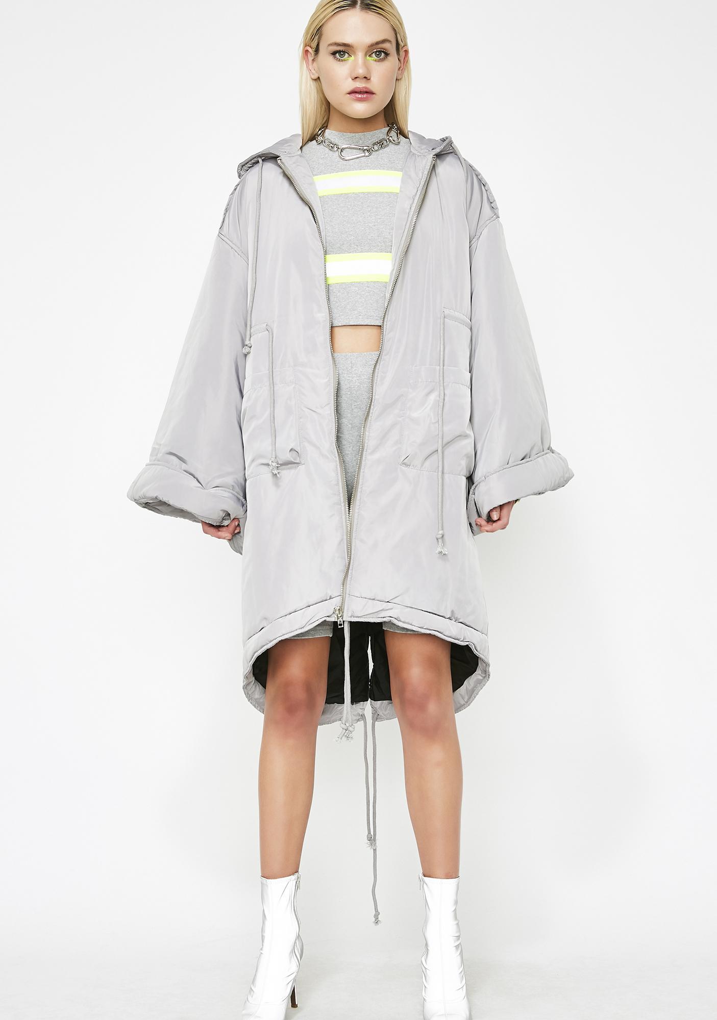 Go Flex Hooded Coat