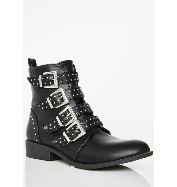 Let'z Rally Studded Boots