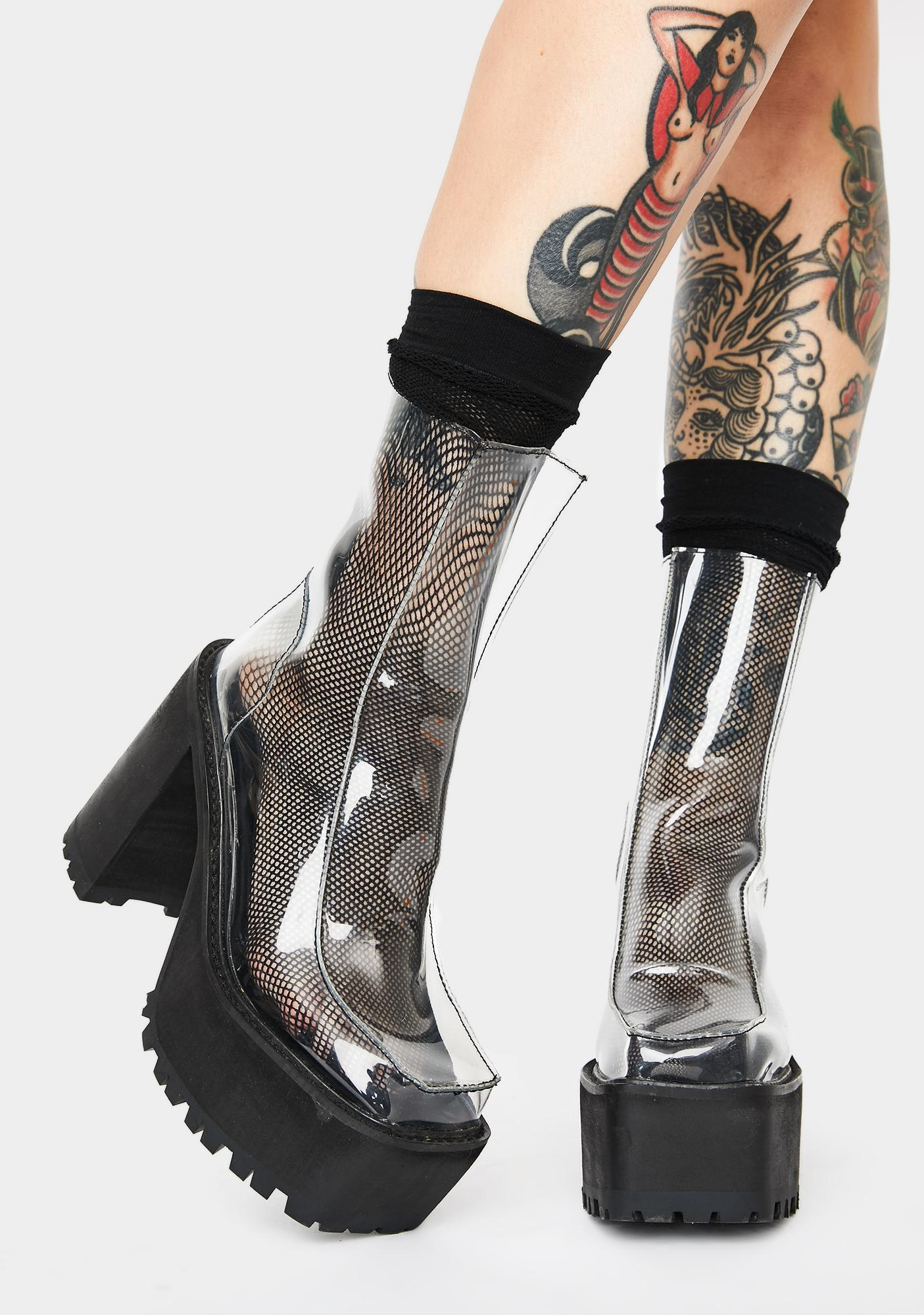 Current Mood No Illusions Clear Boots