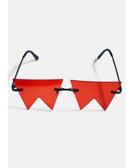 No Boundaries Geometric Sunglasses