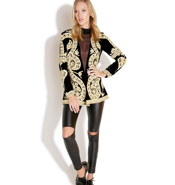 For Love & Lemons Paris Blazer
