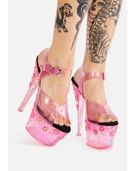 I Look Like Bae Platform Heels