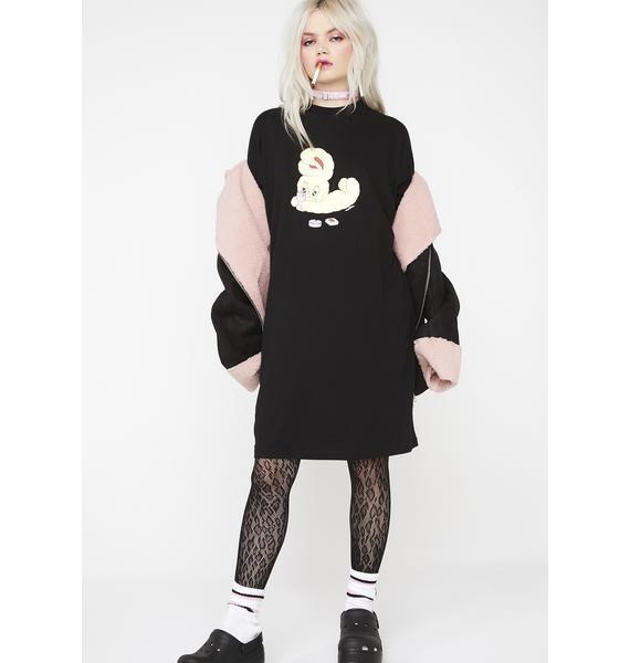 Lazy Oaf Bad Bunny T-Shirt Dress