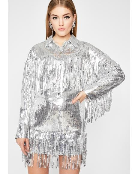 Blindin' Baddie Sequin Jacket