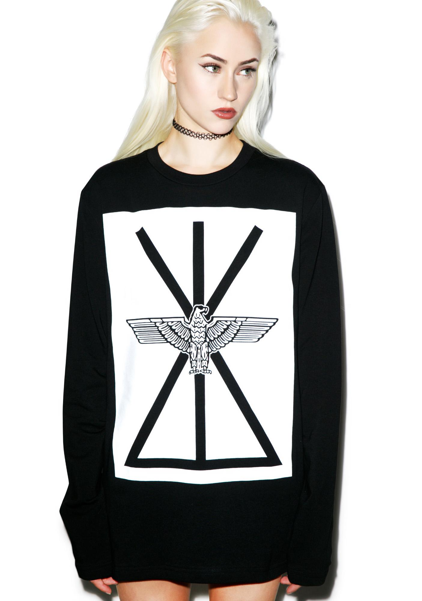 BOY London Union Eagle Sweater Tee