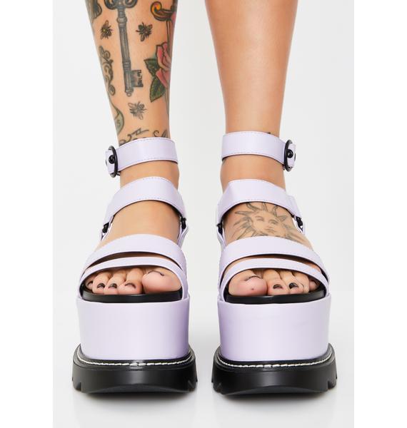 Lamoda Keep Smiling BB Platform Sandals