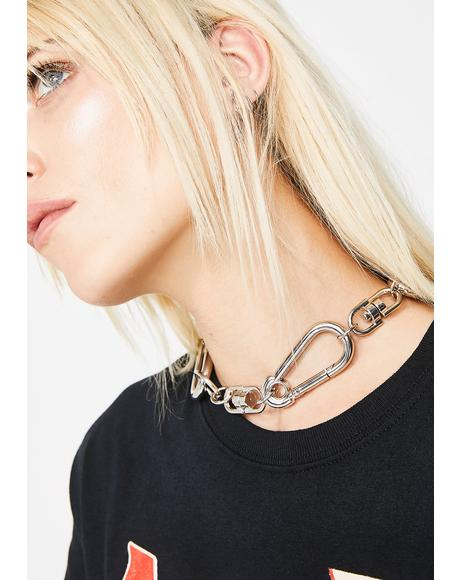 Let'z Link Up Carabiner Choker