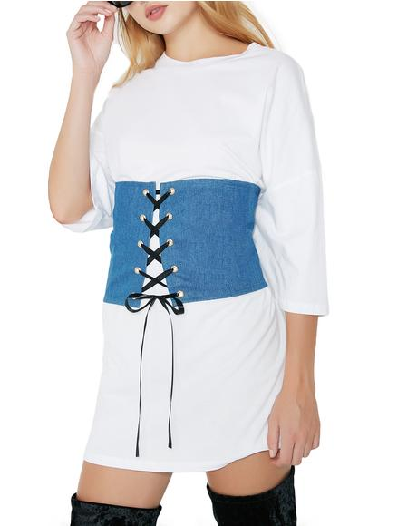 Take Control Lace-Up Corset