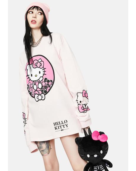 Hello Kitty Graphic Long Sleeve Tee