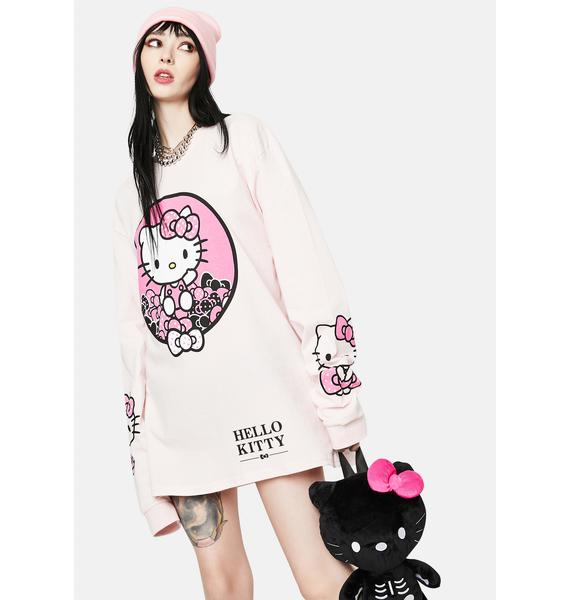 NEW GIRL ORDER Hello Kitty Graphic Long Sleeve Tee