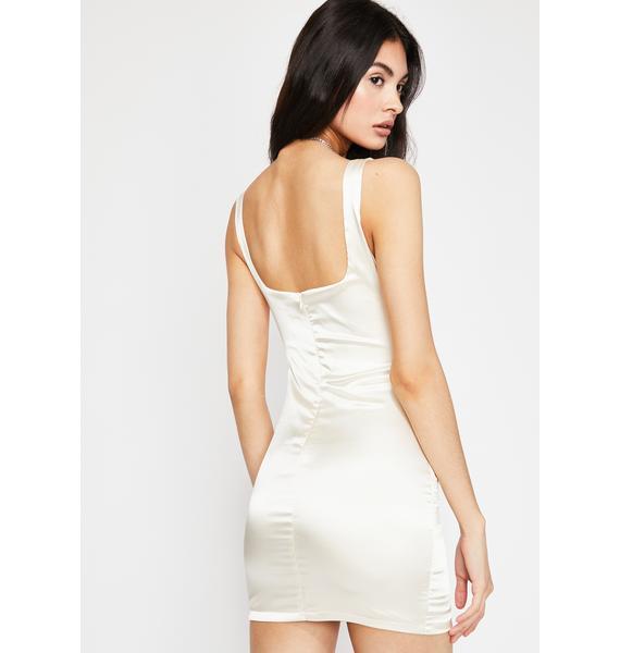 Angel Lustful Nitez Satin Dress
