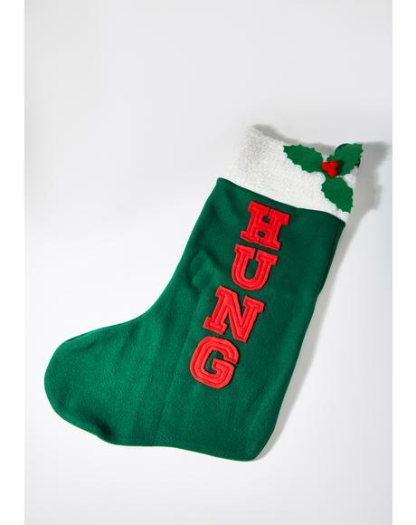 Hung Stocking