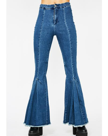 Funk Master Flared Jeans