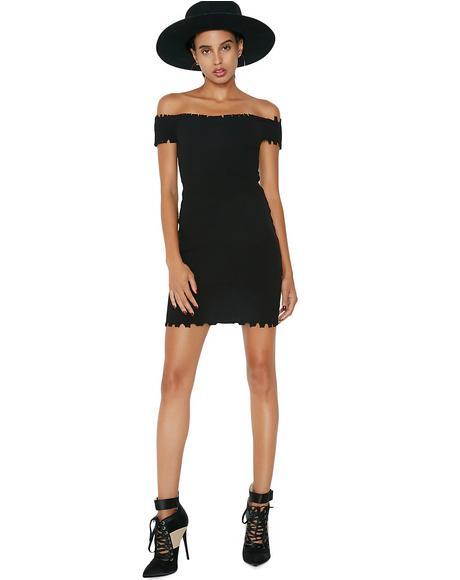 Reckless Off Shoulder Dress