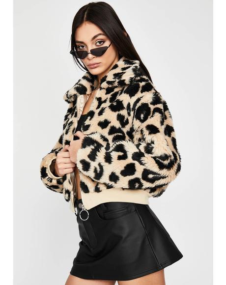 Bangin' Bloodline Leopard Jacket