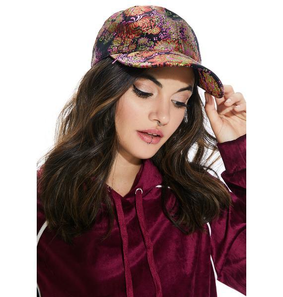 Gardenia Brocade Hat