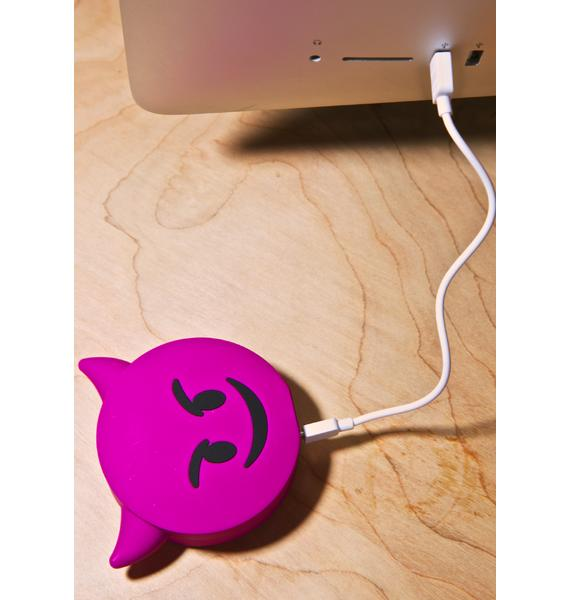 Wattzup Devil Emoji Power Bank