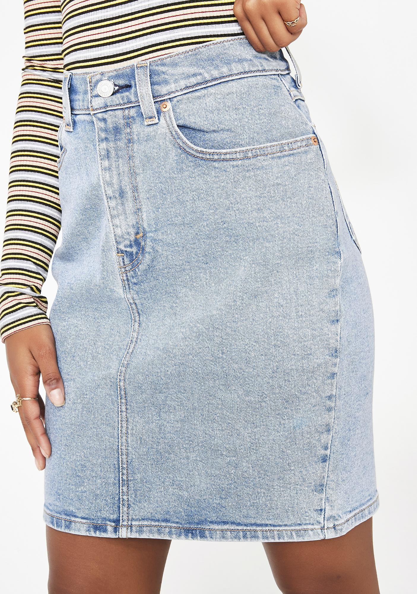 a915a607ae Levis Core Skirt | Dolls Kill