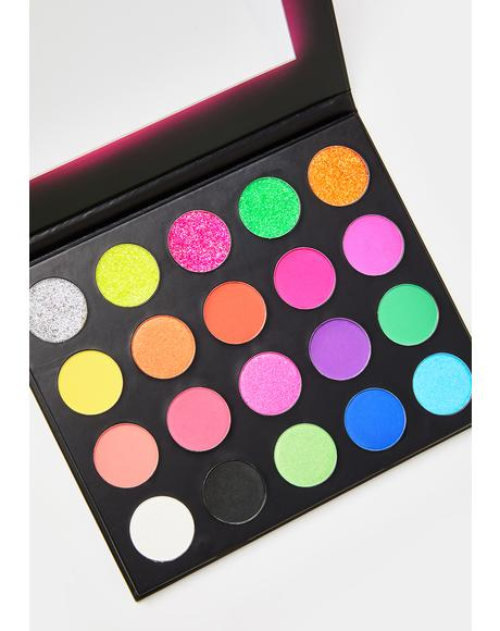 Neon Signs Eyeshadow Palette
