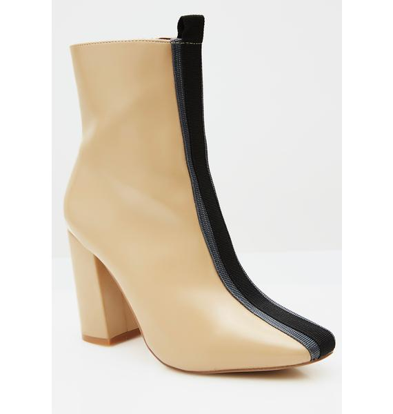 Nude Strut In Line Booties