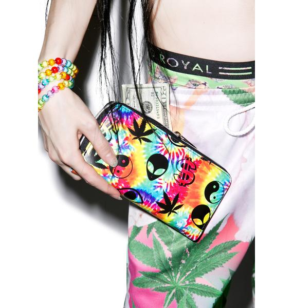 O Mighty Alien Money Weed Wallet