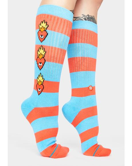 x Ricardo Cavolo Heartless Crew Socks