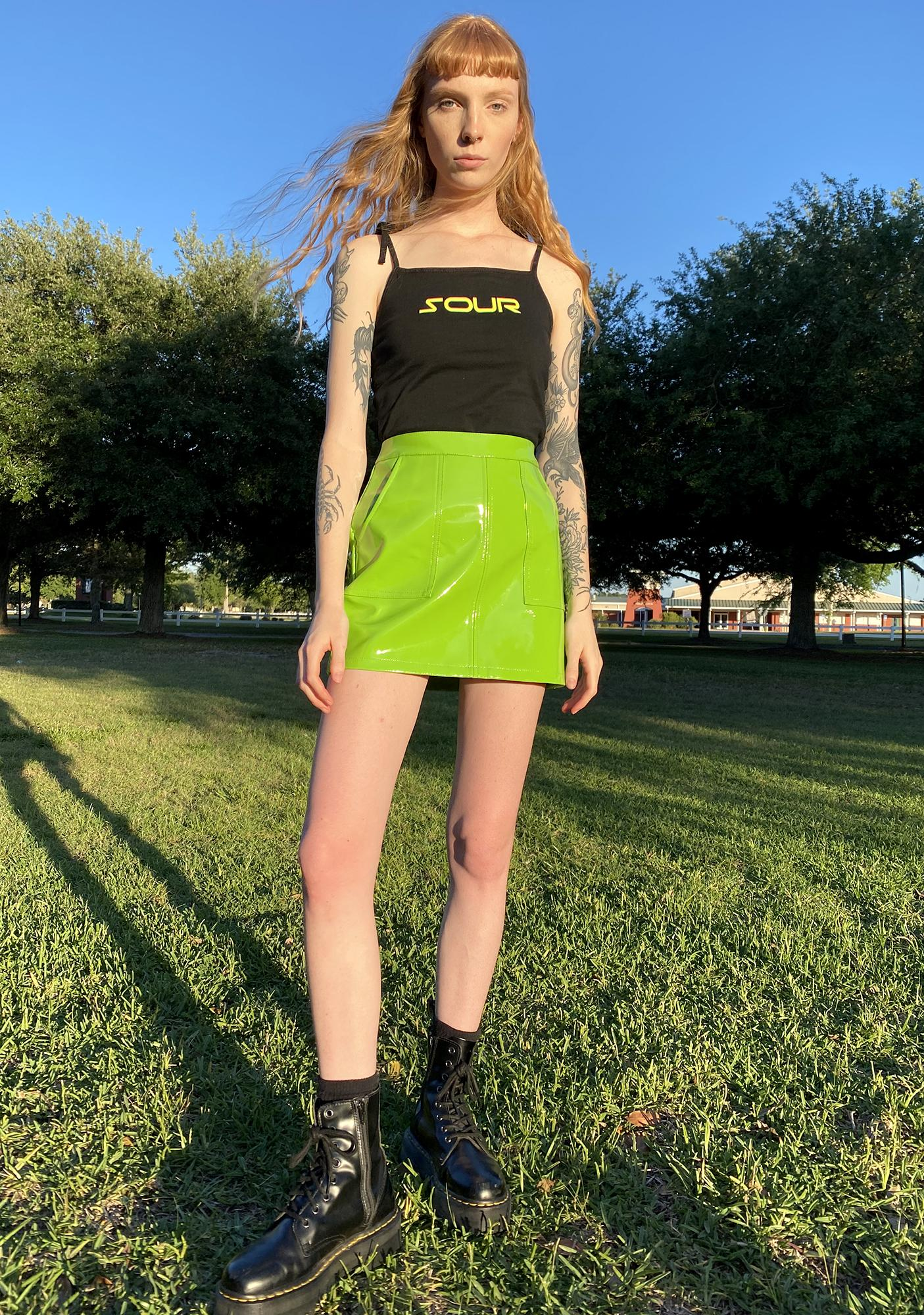 HOROSCOPEZ Different Reality Mini Skirt