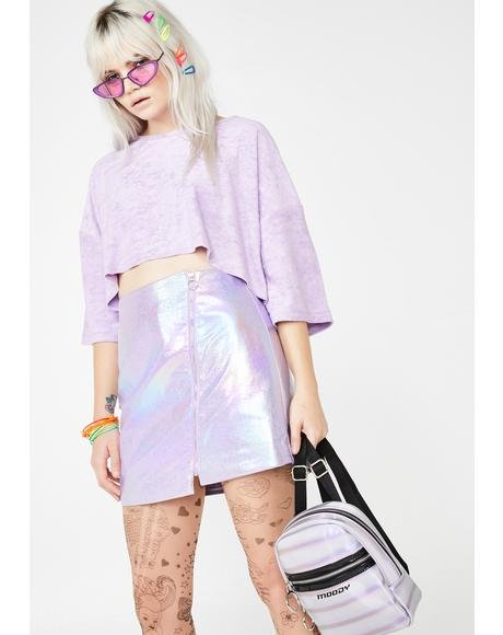 Gumdrop Surge Metallic Skirt