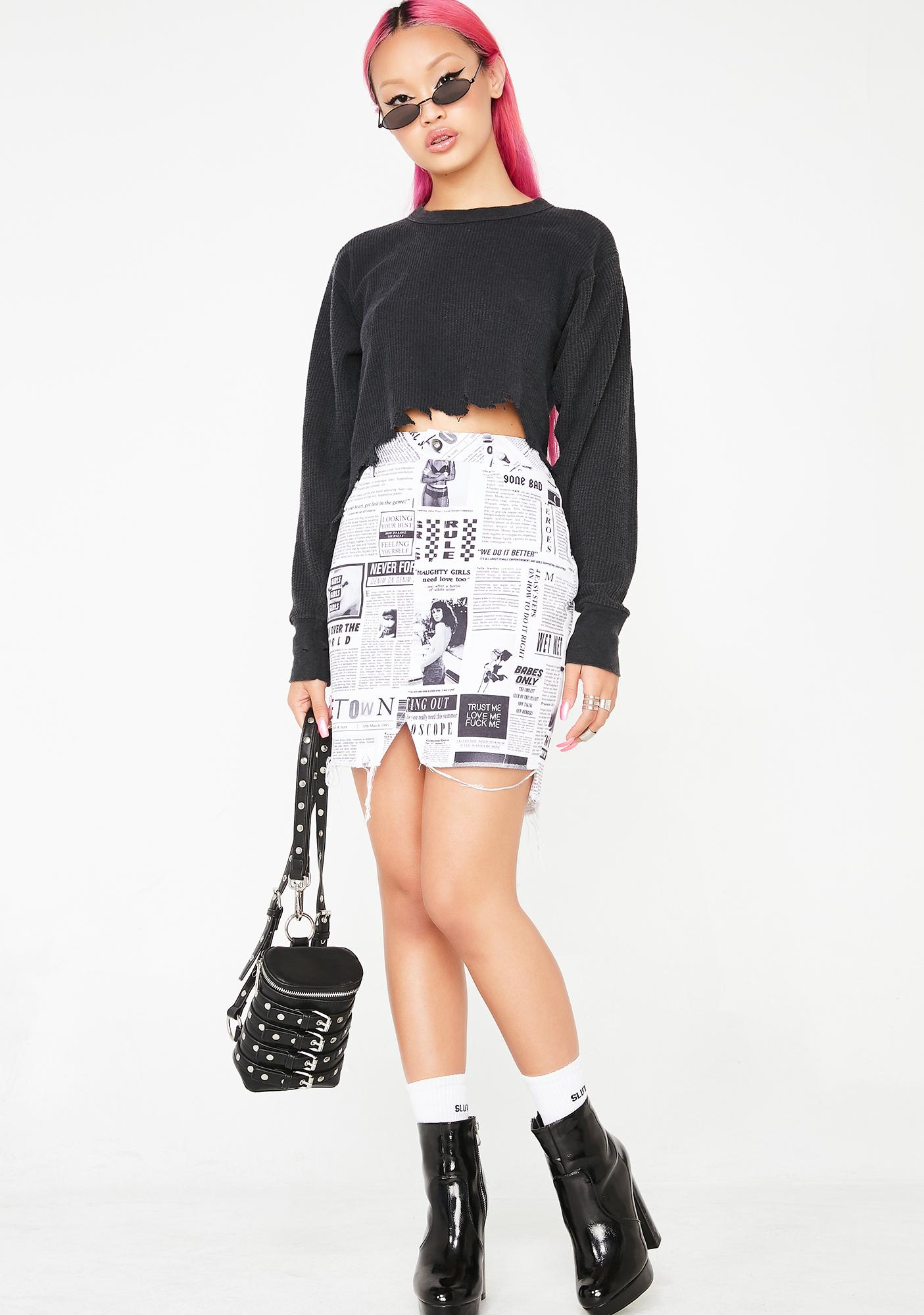 Local Heroes Carrie Paper Skirt