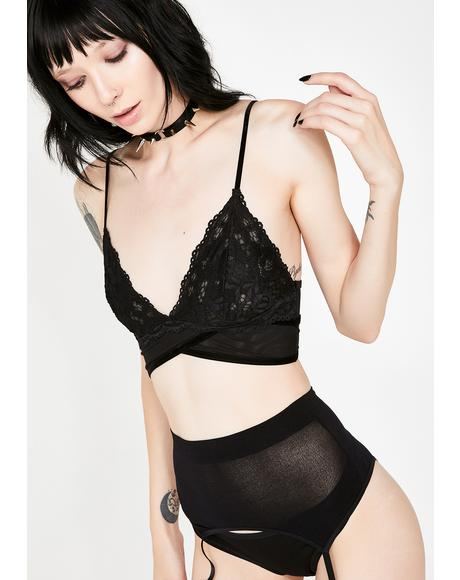 Wicked Don't Be Crossed Bralette