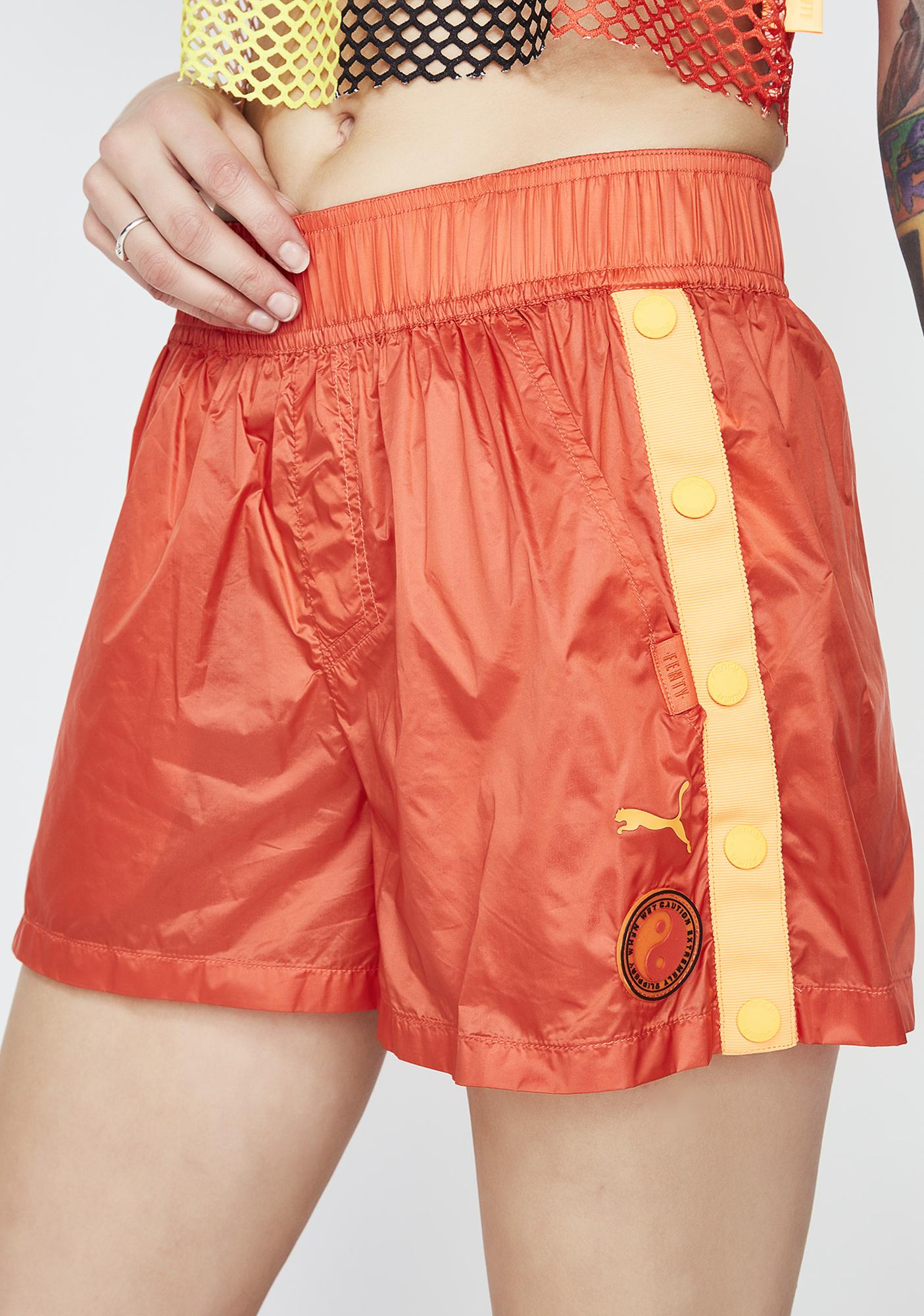 PUMA FENTY PUMA By Rihanna Tearaway Mini Shorts