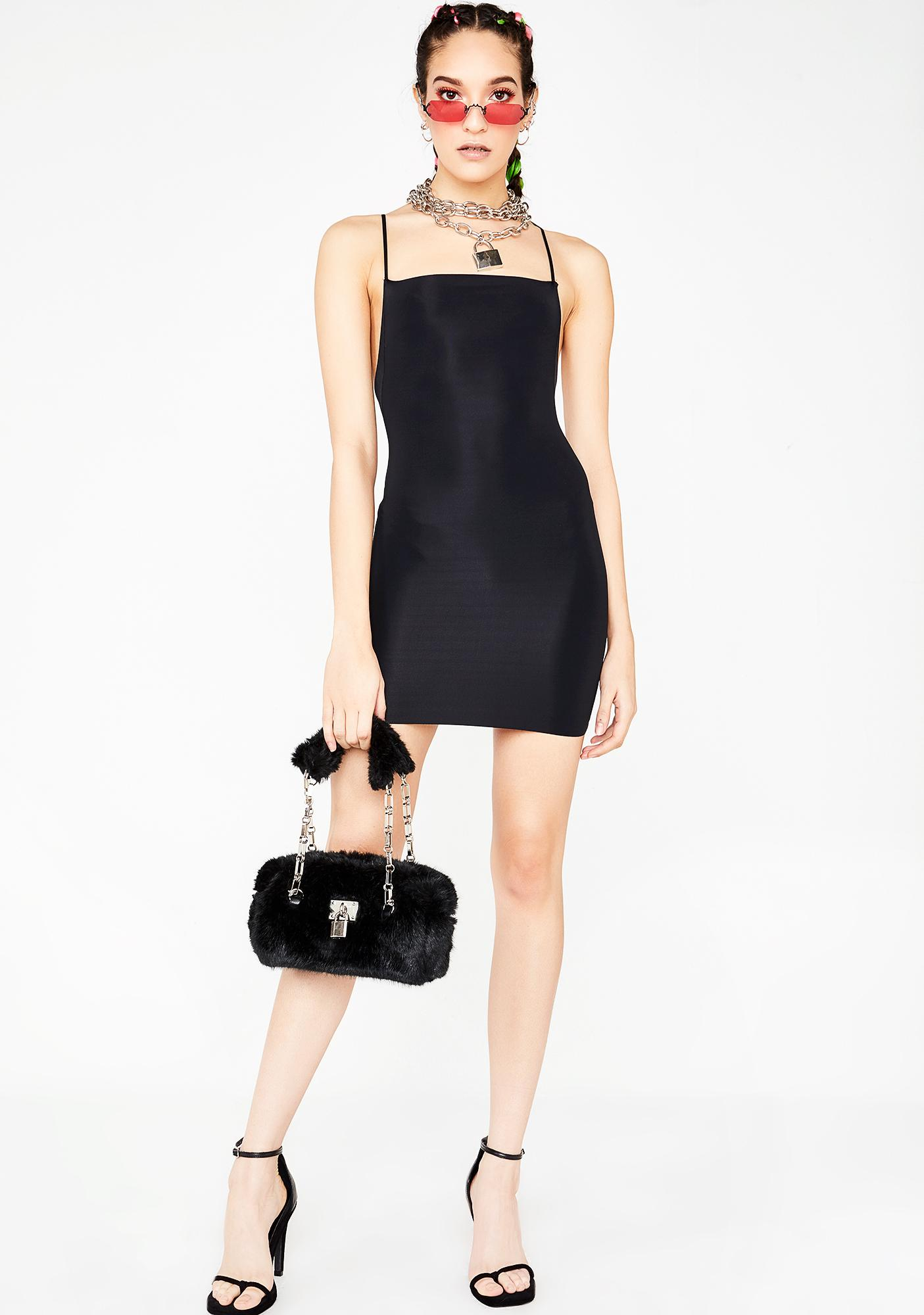 Kiki Riki Double Crosser Bodycon Dress